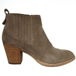 Dolce Vita Suede Ankle Boots size 8.5